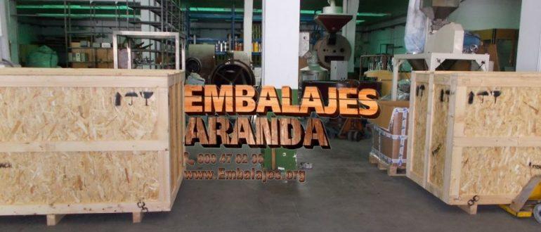 Embalaje industrial Arrecife Las Palmas
