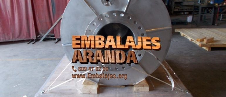 Embalaje industrial Arrigorriaga Bizkaia