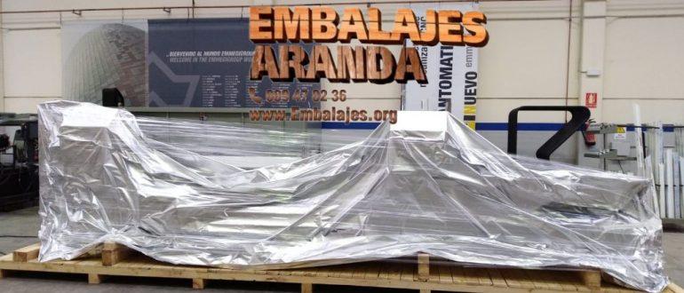 Embalaje industrial Aznalcázar Sevilla