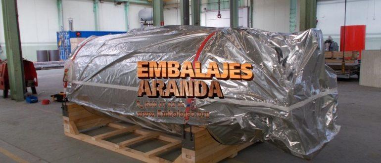 Embalaje industrial Bailén Jaén