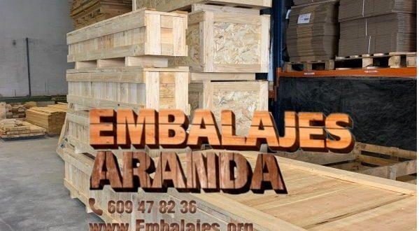 Embalaje industrial Barakaldo Bizkaia