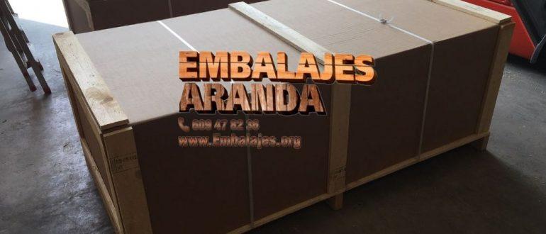 Embalaje industrial Becerril de la Sierra Madrid