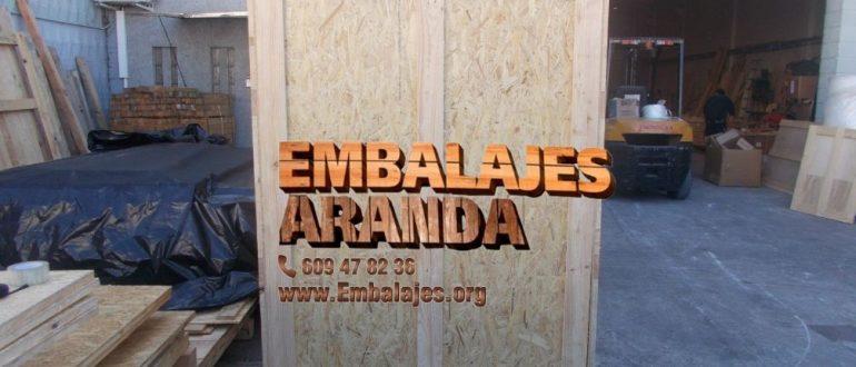 Embalaje industrial Béjar Salamanca