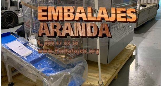 Embalaje industrial Benaguasil Valencia