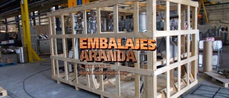 Embalaje industrial Benavente Zamora