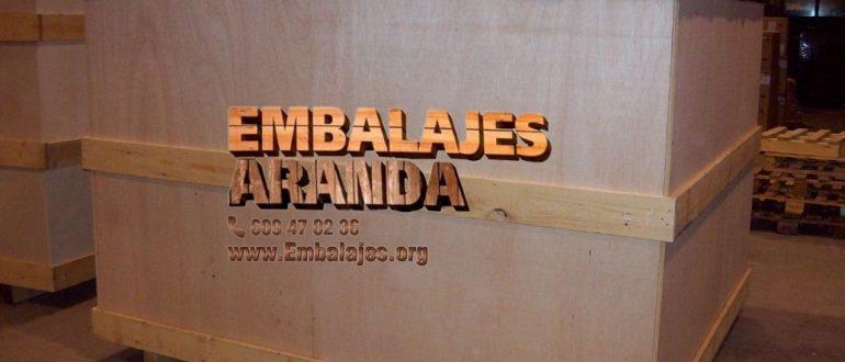 Embalaje industrial Berga Barcelona