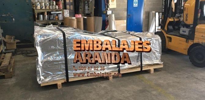 Embalaje industrial Beriáin Navarra
