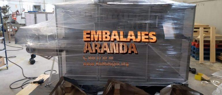 Embalaje industrial Binissalem Illes Balears