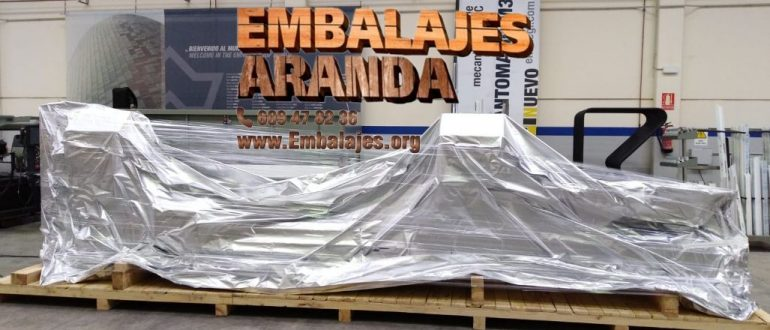 Embalaje industrial Bollullos Par del Condado Huelva