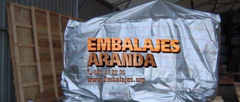 Embalaje industrial Bujalance Córdoba