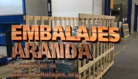 Embalaje industrial Burgo de Osma-Ciudad de Osma Soria