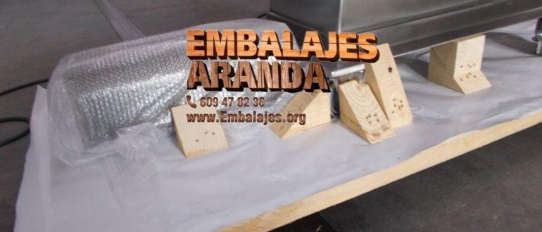 Embalaje industrial Burlada Navarra