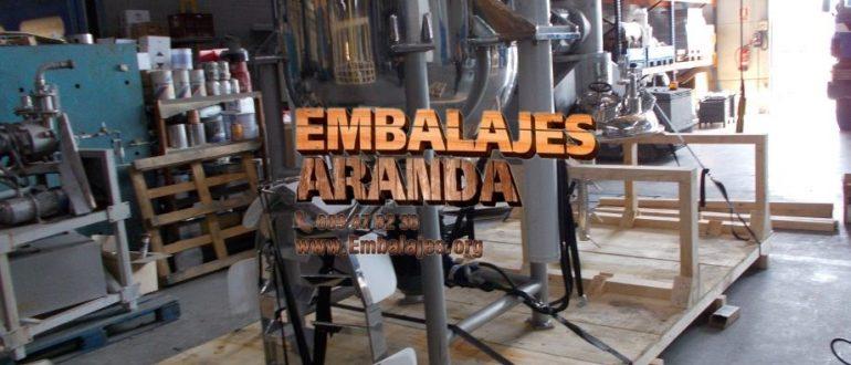 Embalaje industrial Cabra Córdoba