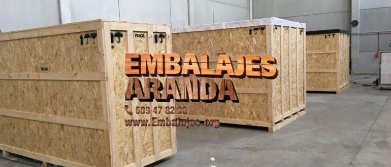 Embalaje industrial Cabrils Barcelona