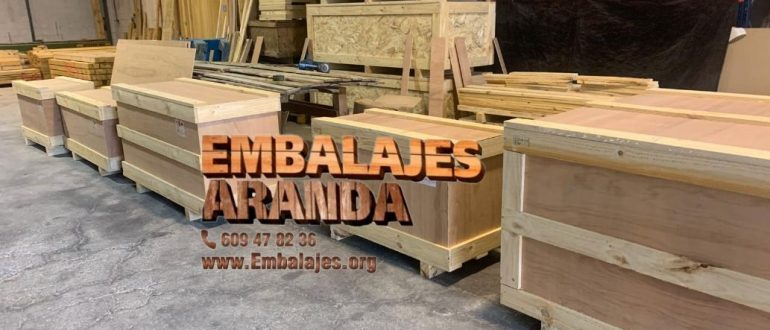 Embalaje industrial Calamocha Teruel