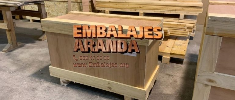 Embalaje industrial Calanda Teruel