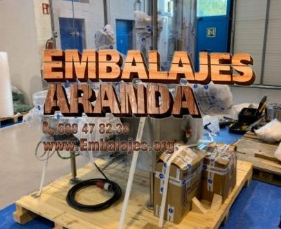 Embalaje industrial Calera y Chozas Toledo