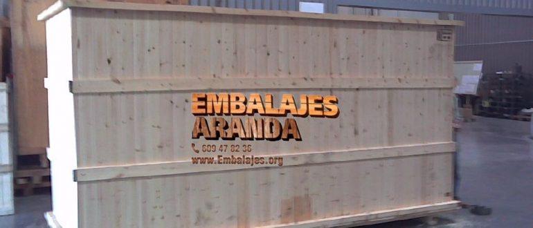 Embalaje industrial Calonge Girona