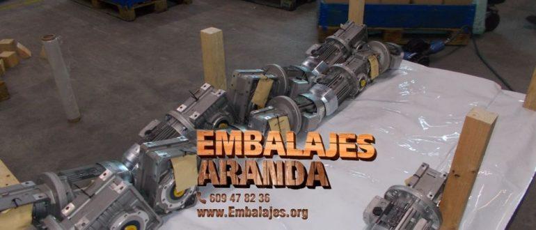 Embalaje industrial Cantillana Sevilla