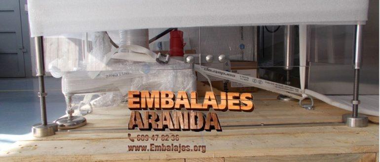 Embalaje industrial Capdepera Islas Baleares