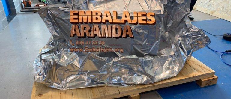 Embalaje industrial Carboneras Almería