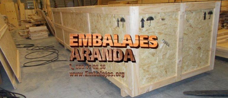 Embalaje industrial Caspe Zaragoza