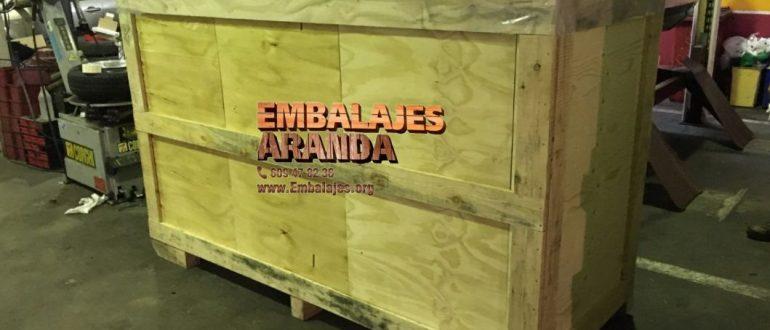 Embalaje industrial Castellón de la Plana