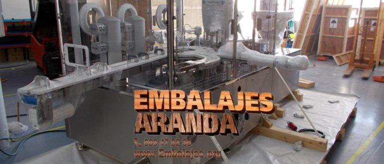 Embalaje industrial Ceutí Murcia