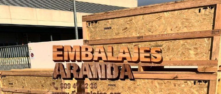 Embalaje industrial Ciudad Rodrigo Salamanca