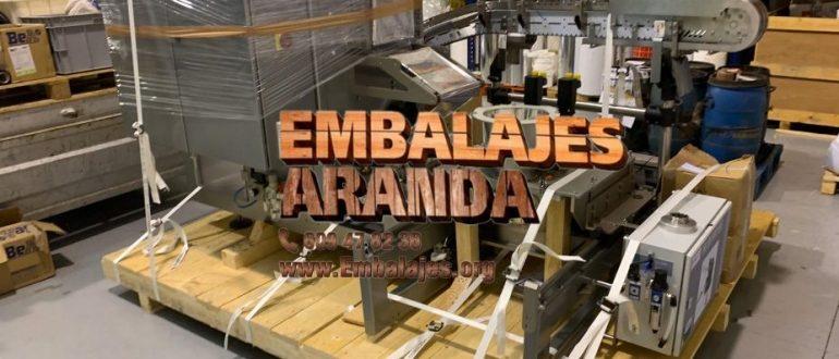 Embalaje industrial Corral de Almaguer Toledo