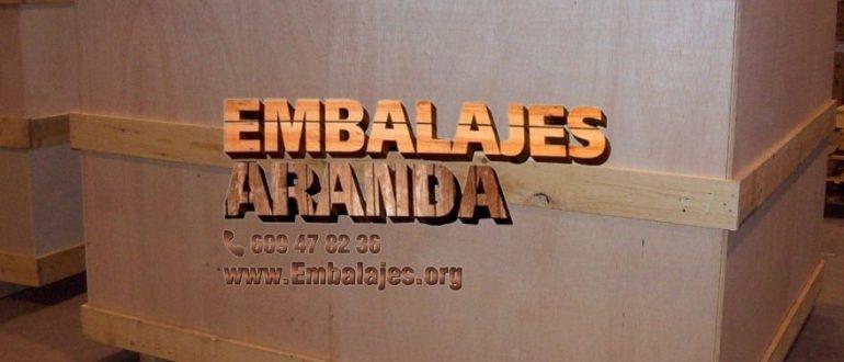 Embalaje industrial Cuarte de Huerva Zaragoza