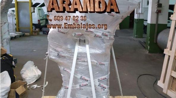 Embalaje industrial Cudillero Asturias