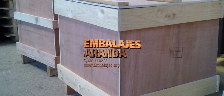 Embalaje industrial Ejea de los Caballeros Zaragoza