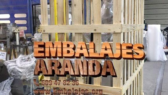 Embalaje industrial El Álamo Madrid