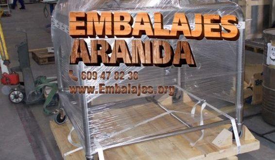 Embalaje industrial El Astillero Cantabria