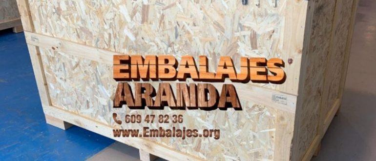 Embalaje industrial El Escorial Madrid