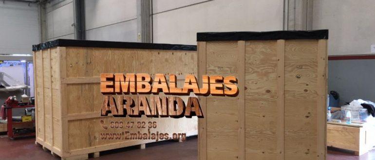 Embalaje industrial El Prat de Llobregat