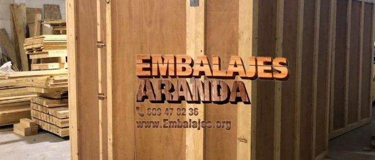 Embalaje industrial El Tiemblo Ávila