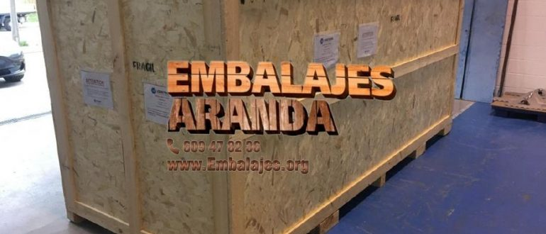 Embalaje industrial Els Pallaresos Tarragona