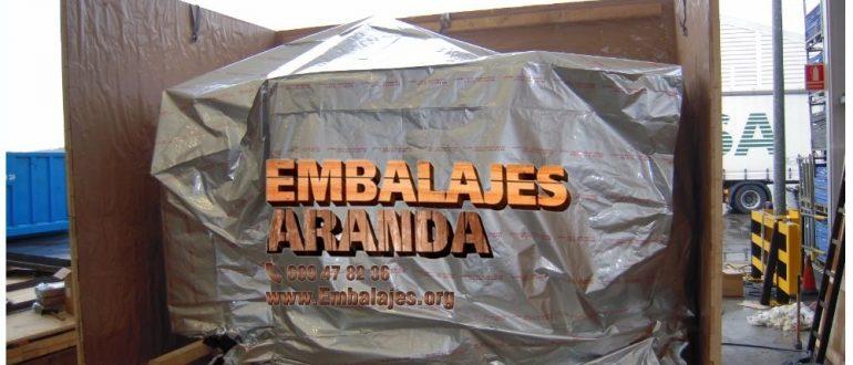 Embalaje industrial Entrambasaguas Cantabria