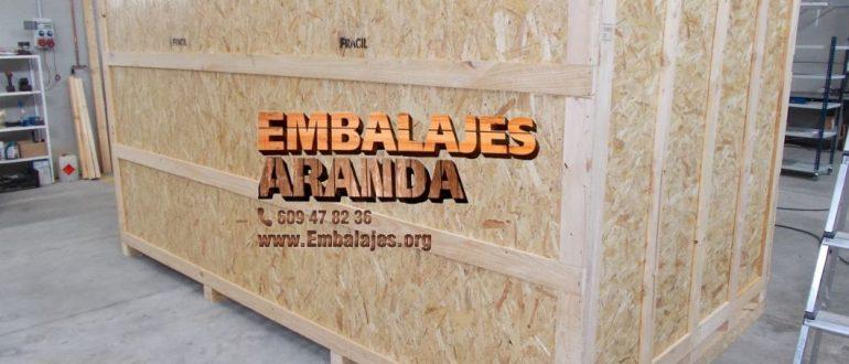 Embalaje industrial Esplugues de Llobregat