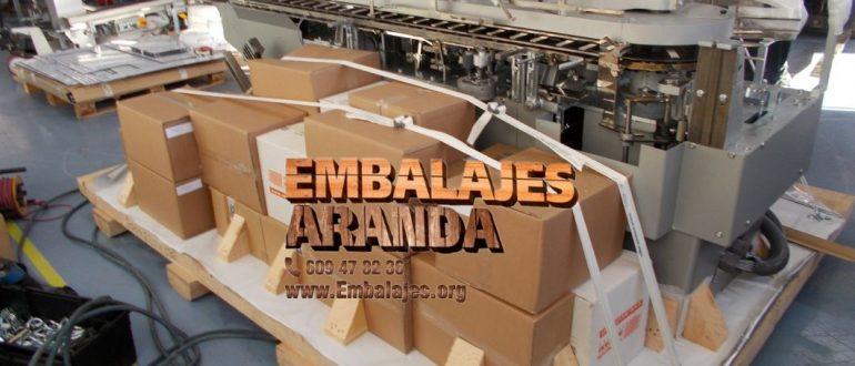 Embalaje industrial Etxebarri Bizkaia
