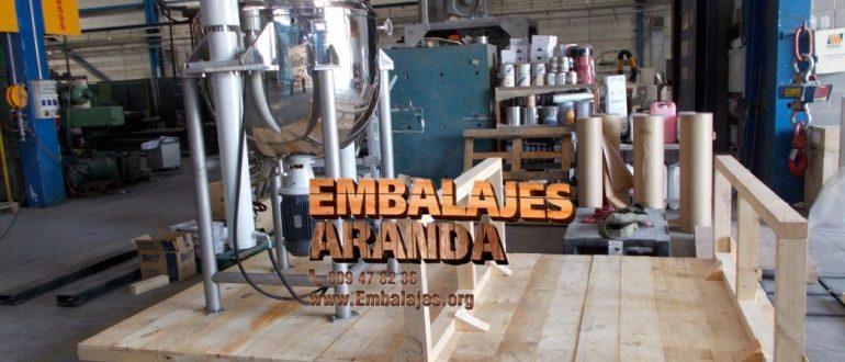 Embalaje industrial Ferrol A Coruña