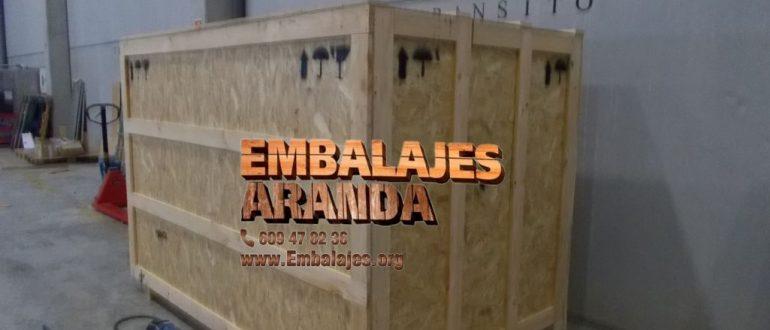 Embalaje industrial Fuenlabrada Madrid
