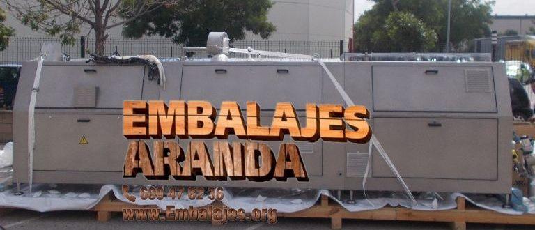 Embalaje industrial Fuentes de Andalucía Sevilla