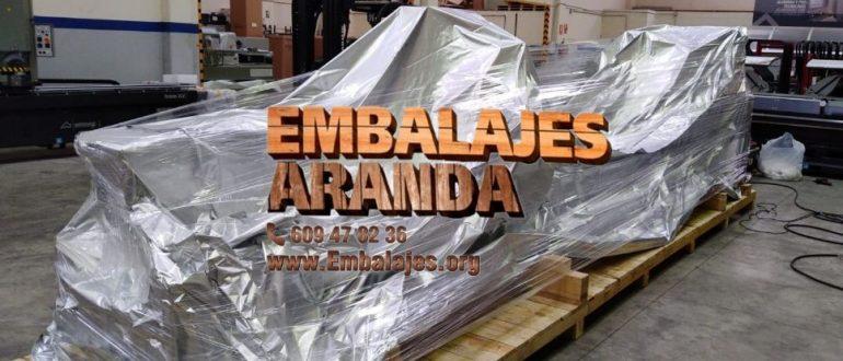 Embalaje industrial Gondomar Pontevedra