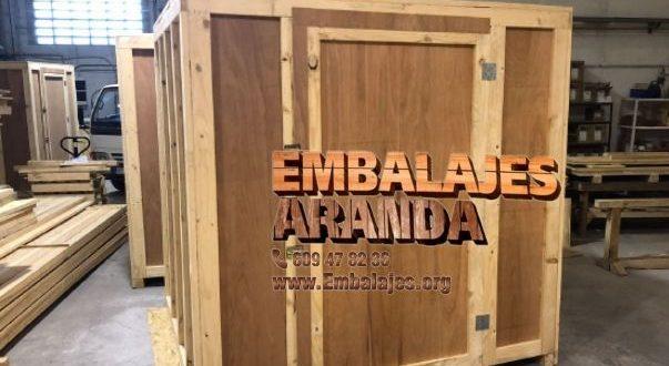 Embalaje industrial Guadalajara