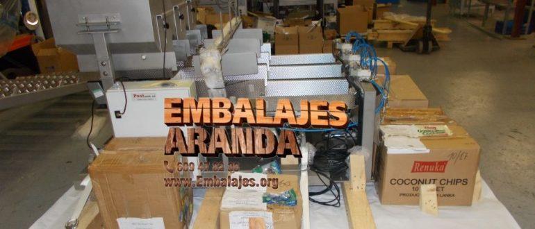 Embalaje industrial Guijuelo Salamanca