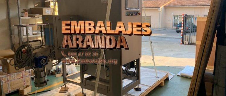 Embalaje industrial Hondarribia Gipuzkoa