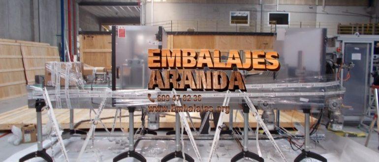 Embalaje industrial Huarte Navarra